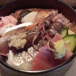 Suehirozushi - お昼のサービスちらしアップ