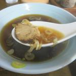 大江戸 - 醤油の香りが立つスープも美味し