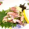 回転寿司ぼて - 料理写真:アジのたたき