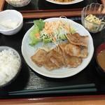 クレヨン - 日替り  豚肉の味噌焼き