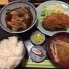 割烹 ゆず - 料理写真:メンチカツと肉豆腐
