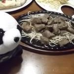 ティンバーライン - サイコロステーキ♪