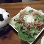ティンバーライン - 本日のMVP!ベーコンサラダ
