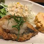 珈食房 る ぱん - 鰆の竜田揚げ 梅肉おろしソース