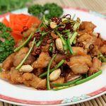 栄華楼 - 鶏肉の辛子炒め