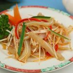 栄華楼 - 豚耳の冷菜
