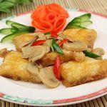 栄華楼 - 白身魚の玉子焼き