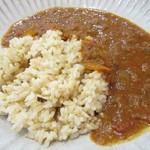 かふぇ まい やみぃ - 玄米カレー