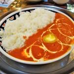ナマステタージマハル - 料理写真:バターチキンカレライス(1080円)
