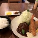 洋食ますだ - 今日は「ランチ」900円です(2017.9.20)
