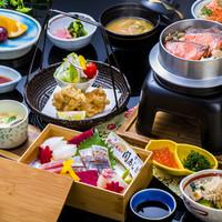 浜菊 - 関鯵と季節の釜飯ご膳