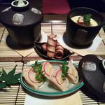 鳥升 - 前菜3種盛