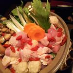 鳥升 - 阿波尾鶏白湯鍋