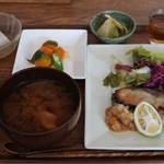 風泉 - ハマチの西京漬のランチ