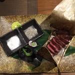 たか濱 - 料理写真:常陸牛ミスジステーキ