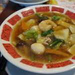 バーミヤン - 料理写真:「五目麺」特にスープが旨い