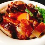 焼肉ホルバル - ローストビーフ丼