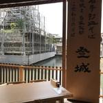 登城 - 天気がいい日は辰鼓楼を眺めながら頂くのもイイですネ