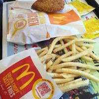 マクドナルド-シャカシャカチキンとポテト