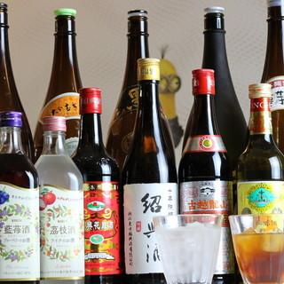 種類豊富な芳しい中国酒にうっとり…♪