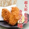 カキフライ2ケ&岩中ロースかつ120g定食