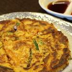 韓式居酒屋 アッパ - 海鮮チヂミ