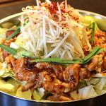 韓式居酒屋 アッパ - ホルモン鍋