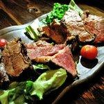 紅や - 牛肉のタタキ