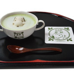 SNOOPY茶屋 由布院 - スヌーピー抹茶ラテ(ホット)