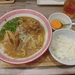 徳島ヌードル ぱどる - 料理写真:徳島ラーメン&小ライス