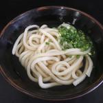 松下製麺所 - 温かけうどん200円(*゚∀゚*)