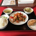中国料理 彩桂 - 鶏肉のカシュナッツ炒め800円