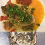 カフェ&ブラッスリー イレラ - 北海道仙鳳趾産の牡蠣のムニエル
