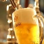 北海道マルシェ - エビスの生ビールが飲めるお店