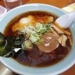 ラーメンのと金 - 料理写真:しょうゆラーメン 550円