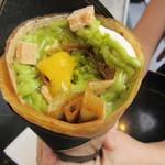 PARLA - ピスタチオと黄色の果実のクレープ 1512円