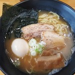 Adumaza - 「鶏白湯そば」(2017年9月20日)