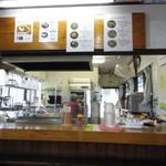 信州生そば - 厨房