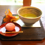 73449799 - 本日のお抹茶セット・上生菓子付 1000円
