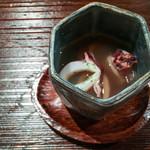 fuku - 料理写真:ヒイカと焦がしたお米の香ばしい香をのお吸い物