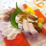 ベッチャーの胃ぶくろ - 刺身盛り合わせ 姫盛り ¥980