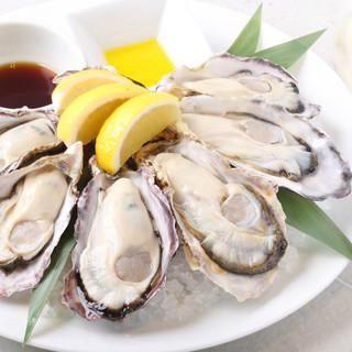 全国各地から旬の生牡蠣をご提供します