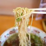 壱番館 - ラーメンの麺
