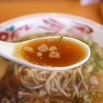 壱番館 - ラーメンのスープ