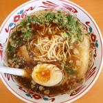 壱番館 - ラーメン 卵1/2トッピング ¥630