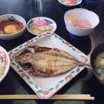 眺望亭 川忠 - 朝の定食