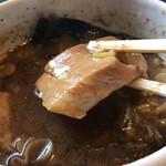 麺屋 たけ井 - チャーシュー