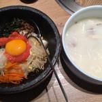 73454090 - 韓流Aセット(選べるお食事と選べるスープ)(