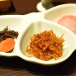 おん宿 蔦屋 - 佃煮美味しい!