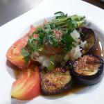 お好み焼き 鉄板焼き こひなた - 夏野菜のグリル